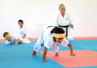 A range of fun physical skill development activities are part of the curriculum