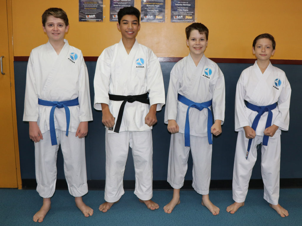 QKA Invitational 2017 Competitors: Oliver, Zac, Evan and Findlay