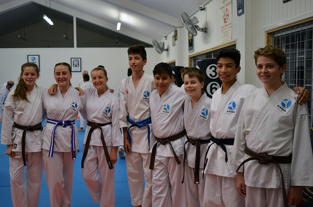 Camaraderie between our Samurai students