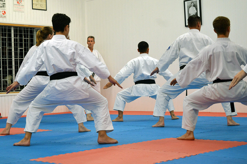 Kata performance - Black Belts